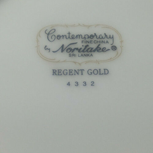 Noritake Regent Gold Soup Bowl Coupe