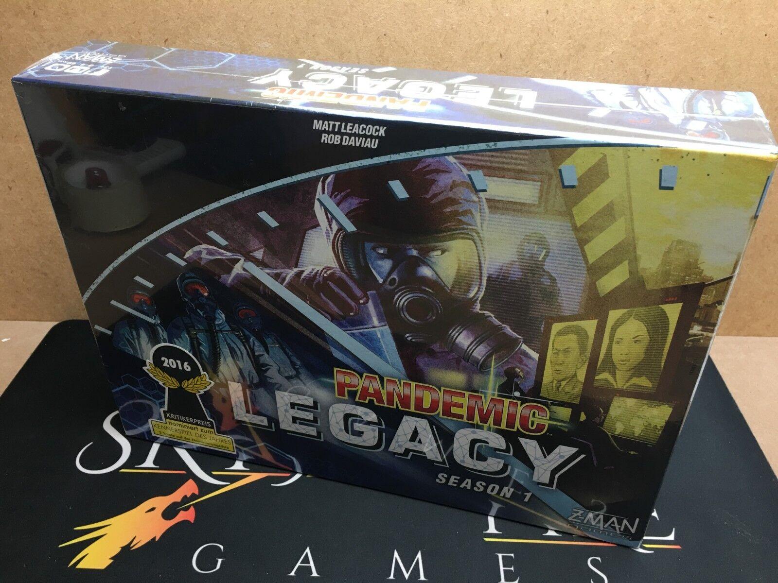 Pandemic  Legacy Season 1 - Z-Man Games (Genuine Sealed)