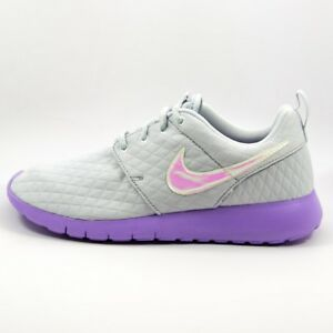 88a291dde291  70 GIRLS NIKE ROSHE ONE PLATINUM GS SIZE 6.5Y NEW 859609 002