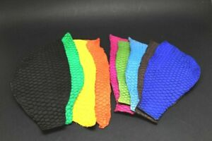 authentic Fish Skin Hide Leather Craft Supply Matte Solid Color 8 Colors