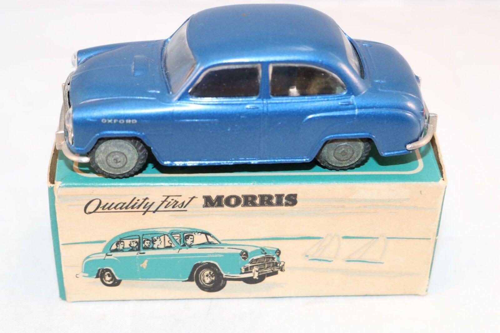 Tekno Denmark 719 Morris Oxford metallic blu 99.9% mint in in in box Superb a beauty b9337b