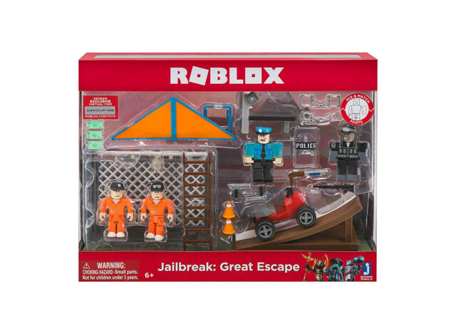 Roblox Action Collection - Jailbreak: Great Escape Playset
