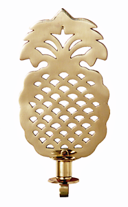 WALL-SCONCES-034-WILLIAMSBURG-034-PINEAPPLE-SOLID-BRASS-WALL-SCONCE-10-5-034-H