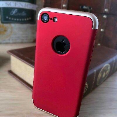 Adattabile Apple Iphone 8 Caso Impatto Spostamento Rosso Proteggi Schermo Spedizione Gratuita-