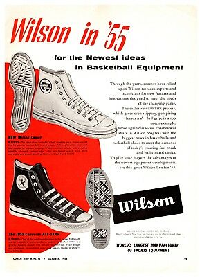 1954 All Star Converse Basketball Shoes