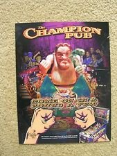 Champion Pub Pinball Machine Sales Flyer   New Old Stock