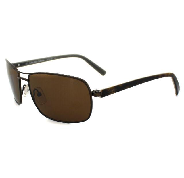 b2fd11d8f652 Calvin Klein Sunglasses 7311sp 210 Brown   Havana Brown Polarized ...