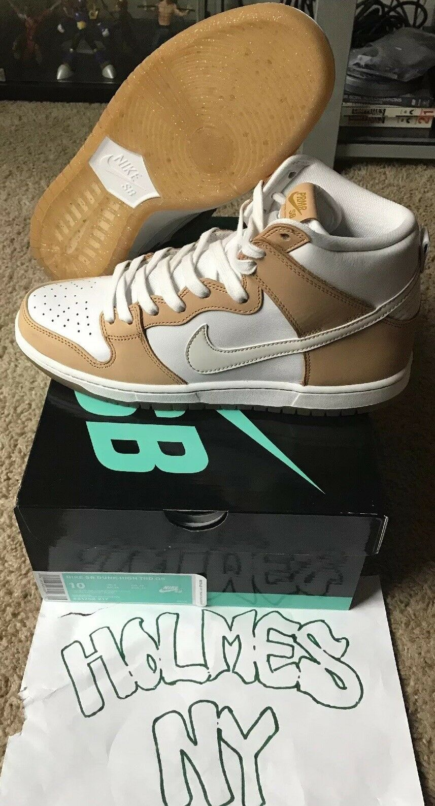 "NIKE SB DUNK HIGH TRD QS AKA ""Win Some, Lose Some."" Size 10 US"