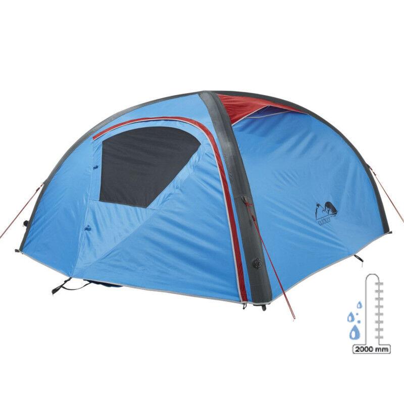 Zelt für 2 Personen Aufblasbares Camping Urlaub Trekking Campingzelt inkl Tasche