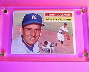 1956-Topps-316-Jerry-Coleman-Ex-no-creases-Yankees