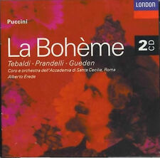 Puccini - La Boheme - Tebaldi - Prandelli CD Disc 1 Only - VERY GOOD CONDITION!