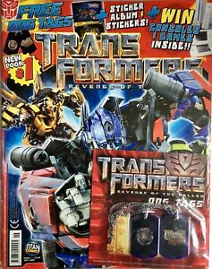 TRANSFORMERS # 1 (VOL 2) / TITAN COMICS UK / JUL 2009 / FREE STICKER ALBUM / N/M 9771751440995