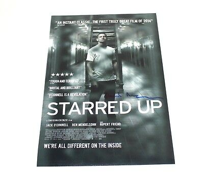 Photographs Director David Mackenzie Autographed 'starred Up' 12x18 Movie Poster W/coa Terrific Value