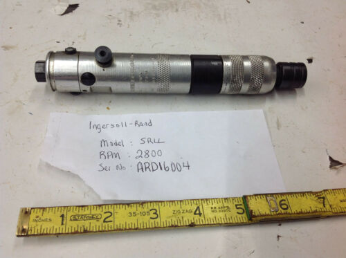 Ingersoll Rand 3RLL Inline Rev. Air Screwdriver Quick Connect 1/4 Hex 2800 RPM