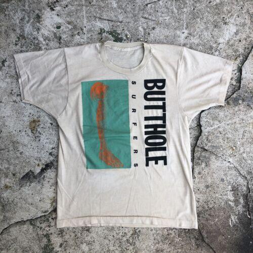 VTG BUTTHOLE SURFERS Rembrandt Pussyhorse T-Shirt