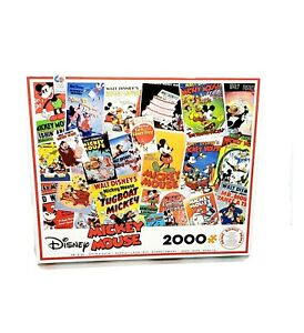 Disney-Mickey-Mouse-2000-Piece-Jigsaw-Puzzle-by-Ceaco-2019-New
