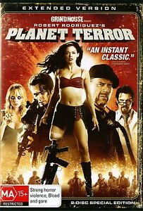 PLANET-TERROR-EXTENDED-VERSION-Uncut-2-Disc-Version-Region-4-DVD