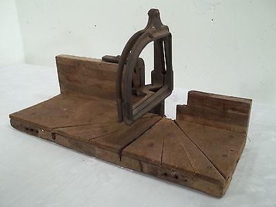 Vintage Antique Stanley Miter Box Model 115 Mitre Box Tool ...