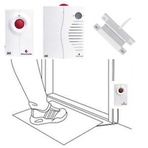 bellman visit 868 set demenz wegl uferschutz sender empf nger alarm trittmatte ebay. Black Bedroom Furniture Sets. Home Design Ideas