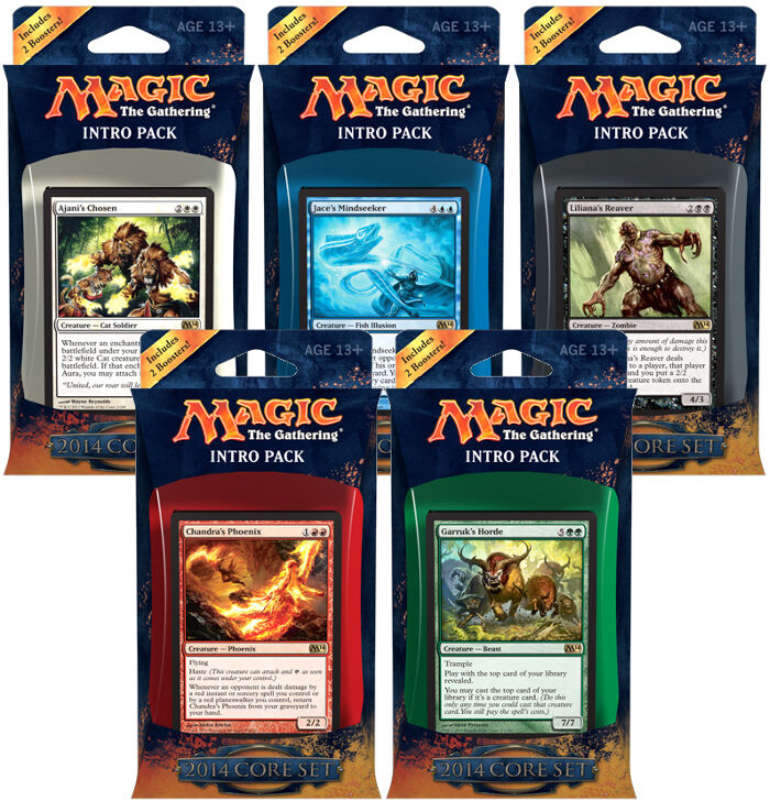 Magic Collection CCG - 2014 2014 2014 Core kits (5) 77e