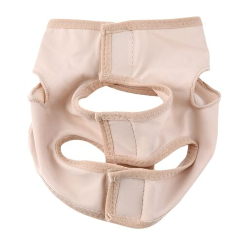 Wrinkle Face Chin Cheek Lift Up Slimming Slim Mask Ultra-thin Belt Strap Band WU