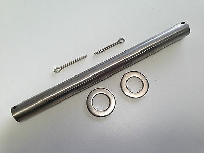 """BOAT TRAILER ROLLER SPINDLE - STAINLESS STEEL - 20mm - SUIT 8"""" ROLLERS"""
