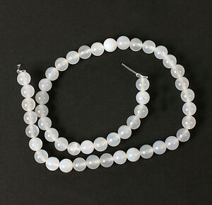 String-of-White-Agate-8mm-Beads-for-Jewellery-Making-T19CS