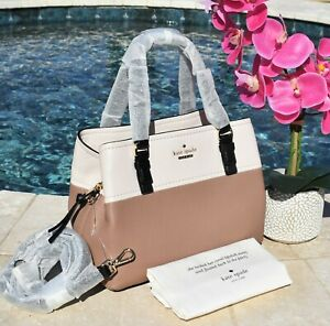 7c1d415c92a Image is loading Kate-Spade-Jackson-Street-Small-Octavia-Leather-Colorblock-