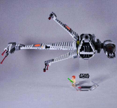 Suporte de exibição para Lego 75050 B-wing Fighter Starwars suporte + tijolos Extra