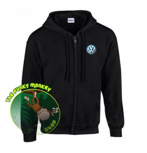 Volkswagen Logo Zip Sweat à capuche GD58-Petit Jusqu/'à 5XL*