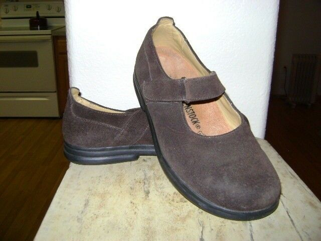 BIRKENSTOCK MARY JANE SUEDE US Schuhe BROWN Damenschuhe SIZE 38 US SUEDE 7 82a8a4