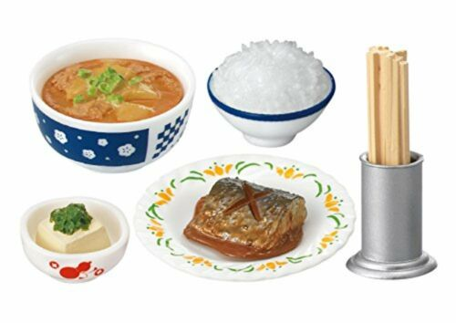 Re-ment Nostalgic Diner Petit sample series Miniature Figure Full set 8 packs