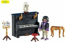 Playmobil Add On 6527 Pianist With Piano - New, Sealed