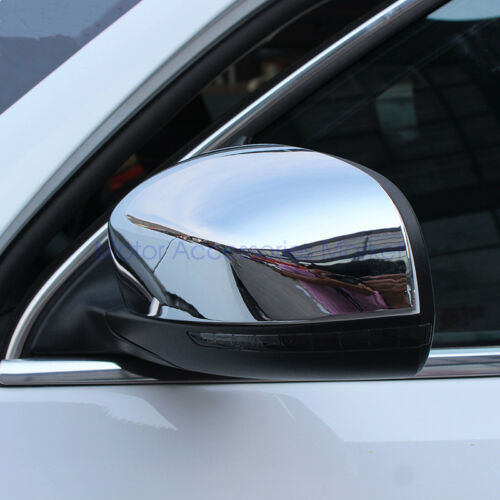 New Chrome Rearview Mirror Cover Trim for JEEP Cherokee 2014-2018 Compass 2018