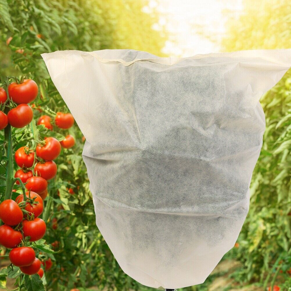 3PCS Plant Cover Bag for Garden Tree Flowers Shrub Sunblock Frost Protection New