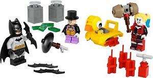 LEGO-Super-Heroes-Batman-contro-il-pinguino-amp-Harley-Quinn-minifigura-BLISTER-40453