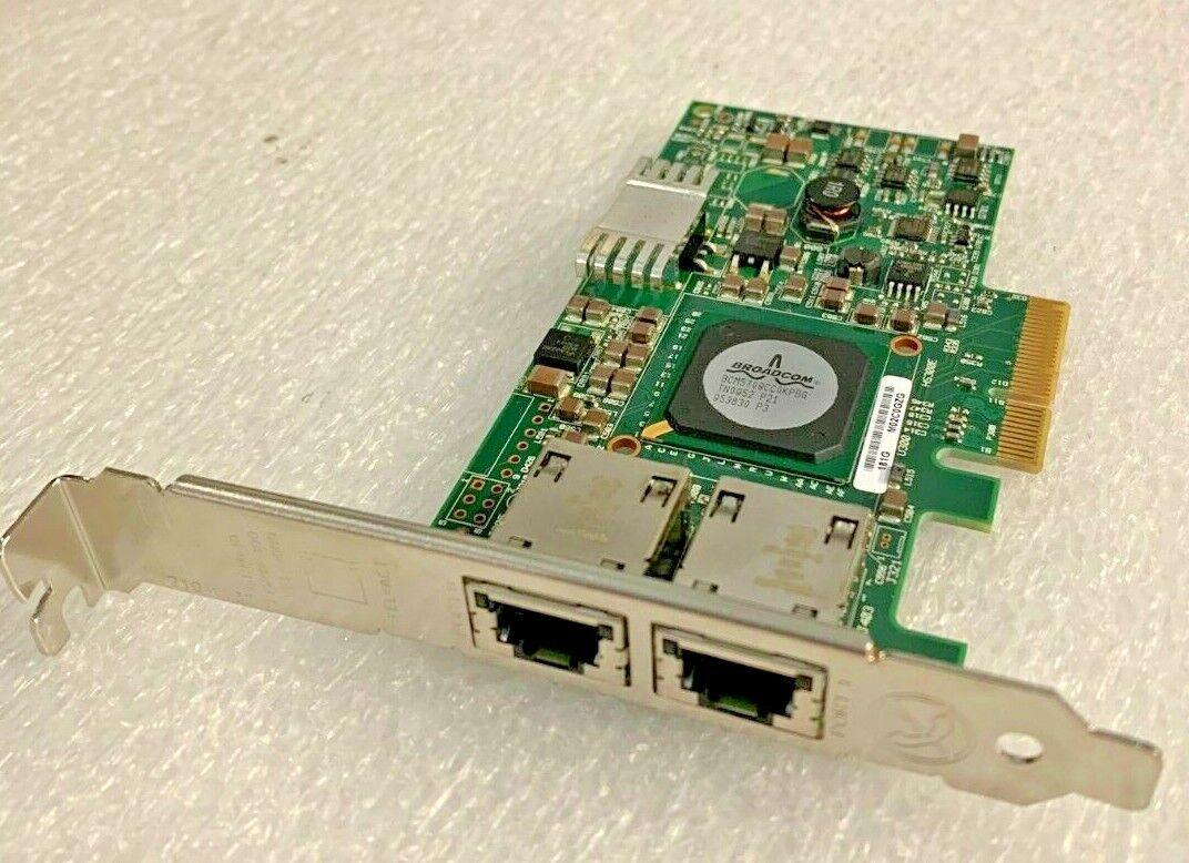 Dell f169g,0f169g Broadcom Network Adapter Dual Port PCIe 10/100/1000