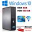Rapide-Dell-Quad-Core-Ordinateur-PC-De-Bureau-Tour-Windows-10-WiFi-8-Go-RAM-500-Go-Disque-dur miniature 1