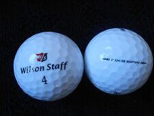 """20  WILSON STAFF """"DX3 SPIN"""" - 2016/17 MODEL - Golf Balls - """"MINT/PEARL"""" Grades."""