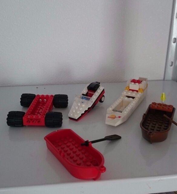 LEGO BOOT  BOOTE SCHLAUCHBOOTE RUDERBOOTE AUTO