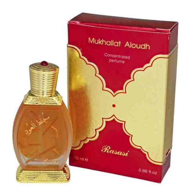 Mukhallat Al Oudh 20ml Top Quality perfume oil attar ittar  by Rasasi Unisex
