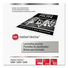 Swingline Gbc Ultraclear Thermal Laminating Pouches 5 Mil 9 X 11 12 100pack