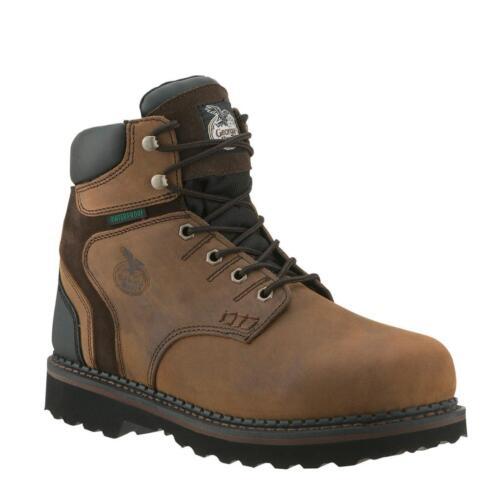 GEORGIA  MEN/'S  BROOKFIELD WATERPROOF WORK BOOTS  G7134 M//W 8-13 NEW NWT