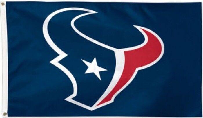 Flagge Hissflagge NFL Houston Texans 90 x 150 cm Fahne Fahne Fahne bf8652