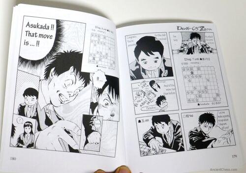 824 ENGLISH 2 MANGA SHOGI BOOKS /'DON/'T CRY ZEFFIRO/' Vol.1/&2 JAPANESE CHESS