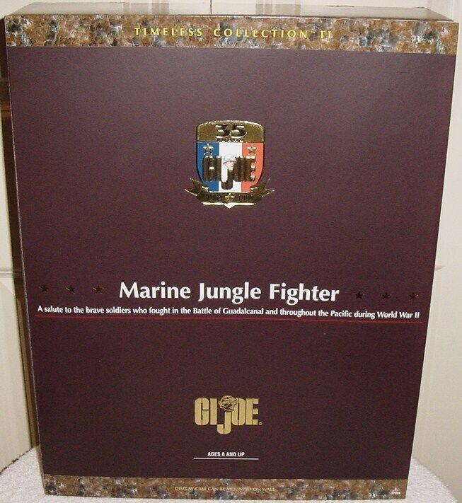 Nueva marca GI Joe atemporal colección que yo Marine selva Fighter Menta