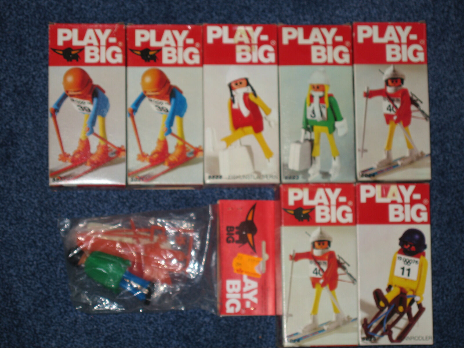 Auflösung großer Play Big Sammlung  hier 8 Sets Winter NEU OVP