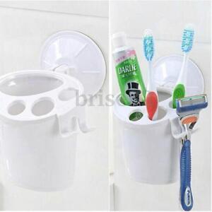 Unique  Bath Bathroom Organizer Storage Basket Soap Holder W Suction Cups