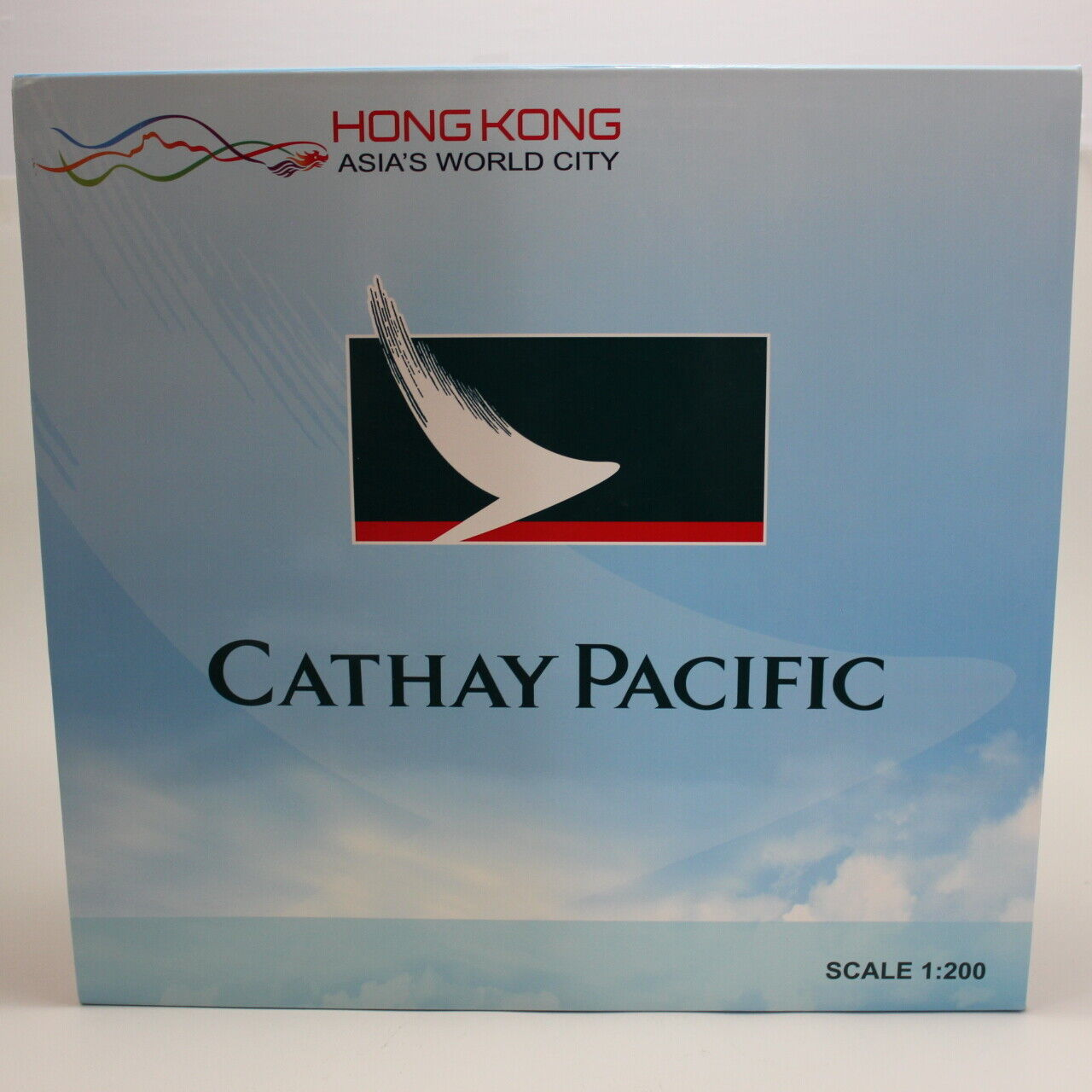 JC Wings 1 200 Cathay Pacific Boeing 777-200 Hong Kong Asia's World City