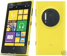 Nokia Lumia 1020 AT&T Windows 8 LTE 32GB 41MP 4.5 Screen Smartphone Yellow GOOD